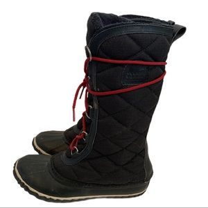 Sorel Women's Quilted Out n' About Tall Boots Sz 7